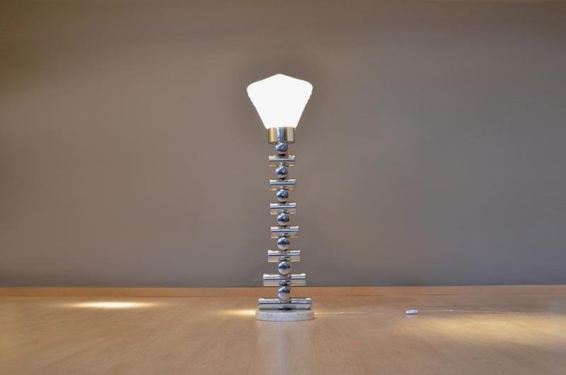 rare grand lampe lampadaire design italien vintage - Lampadaire Design Italien